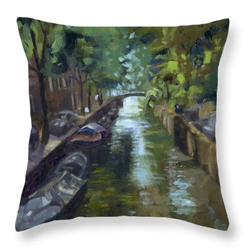 Sold Canals Of Coexistence Throw Pillow