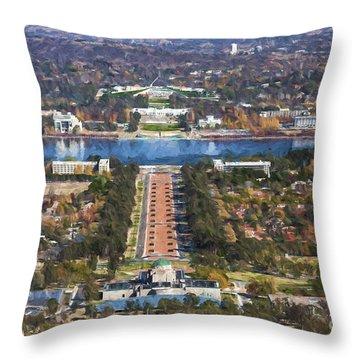 Canberra Throw Pillow