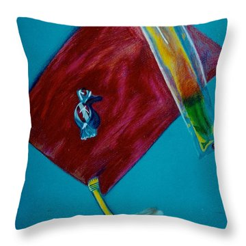 Candy Delight Throw Pillow