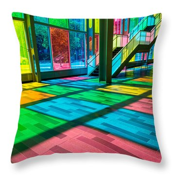 Candy Store Throw Pillow by Alex Lapidus