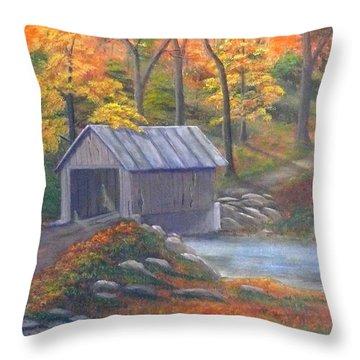 Caney Creek Throw Pillow
