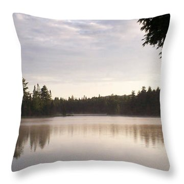 Canisbay Lake - Panorama Throw Pillow