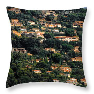Cannes - Life Which Everybody Dreams Of Living Throw Pillow by Christine Till