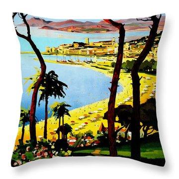 Cannes Throw Pillows