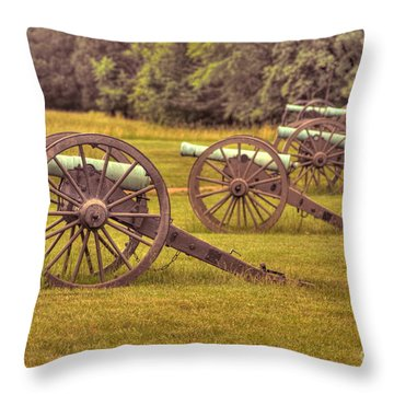Cannon Row Throw Pillow