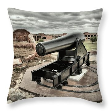 Canon Fire 360 Throw Pillow by Adam Jewell