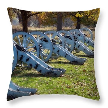 Canon Formation Throw Pillow