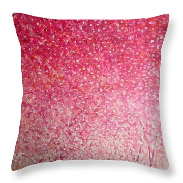 Canopy Of Love Throw Pillow