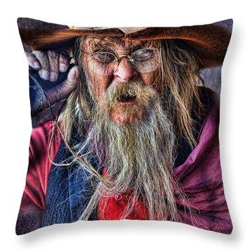 Can't Hear Ya Throw Pillow