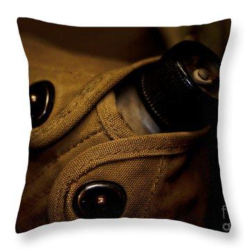 Canteen Throw Pillow