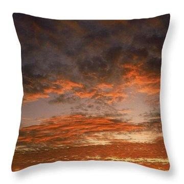 Canvas Sky Throw Pillow