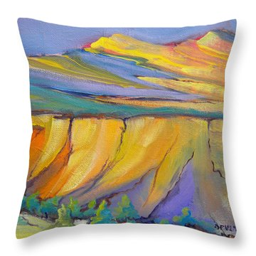 Canyon Dreams 33 Throw Pillow by Pam Van Londen