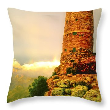 Canyon Gifts Throw Pillow