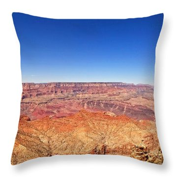 Canyon View Throw Pillow by Dave Files