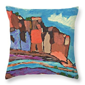 Canyon's  Chorus Throw Pillow