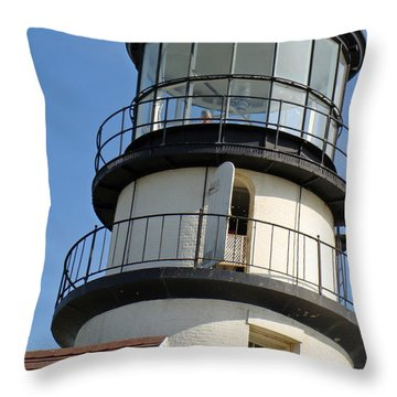 Throw Pillow featuring the photograph Cape Cod Lighthouse by Ira Shander