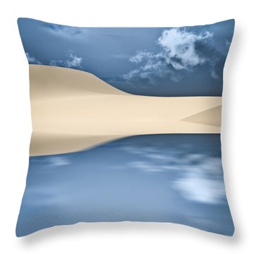 Cape Cod Reflections Throw Pillow by Bob Orsillo