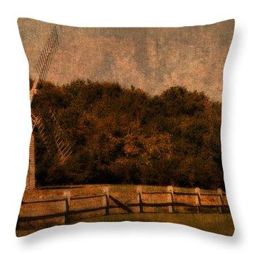 Cape Cod Windmill Throw Pillow