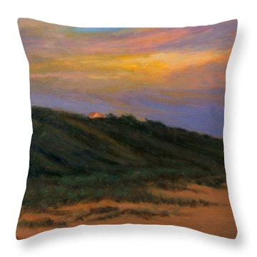 Cape Codtruro Sundown II  Throw Pillow by Phyllis Tarlow