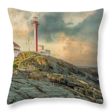 Cape Forchu  Throw Pillow