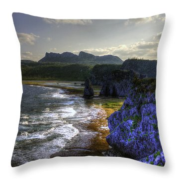 Cape Hedo Hdr Throw Pillow