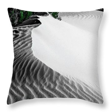 Cape Le Grande Sand Dune Throw Pillow