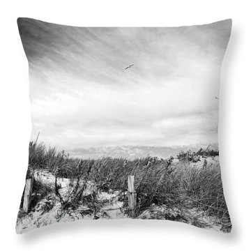 Cape Shore Throw Pillow