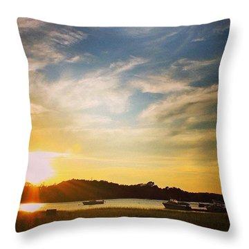 Cape Skies Throw Pillow