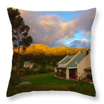 Cape Sunset Throw Pillow