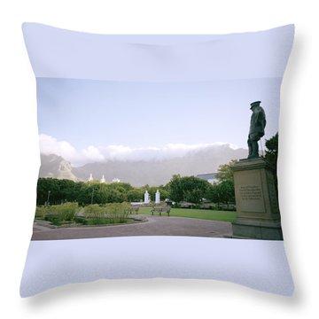 Cape Town Twilight Throw Pillow by Shaun Higson