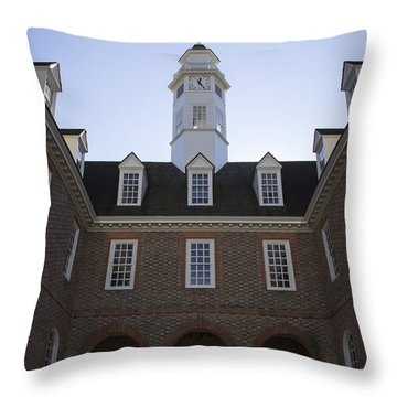 Capitol Arch Rear View Throw Pillow
