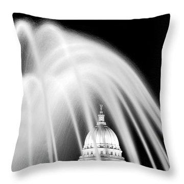 Capitol Fountain Throw Pillow