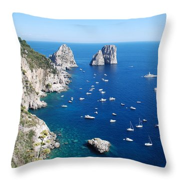 Capri  Throw Pillow by Dany Lison