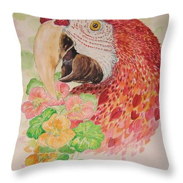 Captain's Snack Throw Pillow