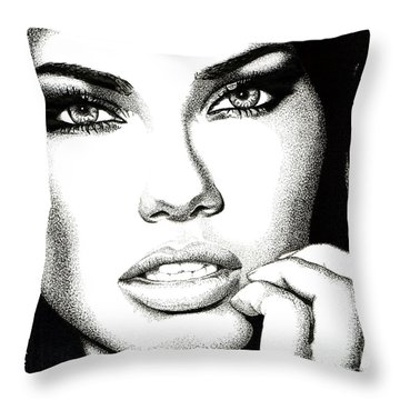 Captivating Eyes Throw Pillow