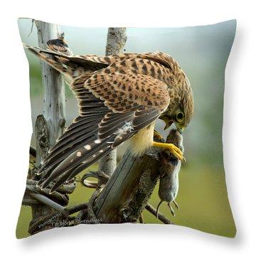 Captured II Throw Pillow