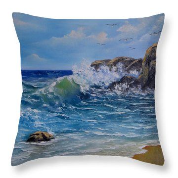 Captured Moment Throw Pillow