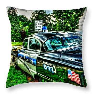 Car 54 004 Throw Pillow