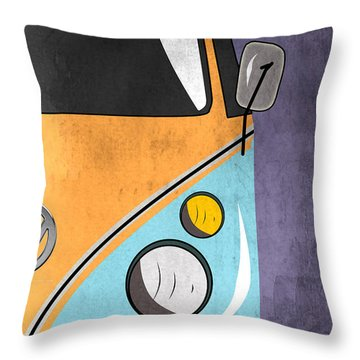 Car  Throw Pillow by Mark Ashkenazi