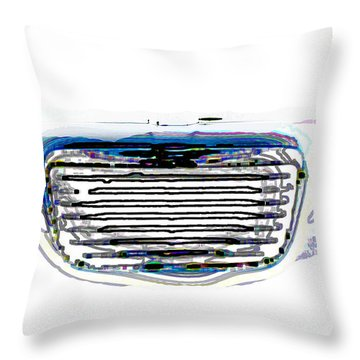 Car Mri Throw Pillow by Tom Gari Gallery-Three-Photography