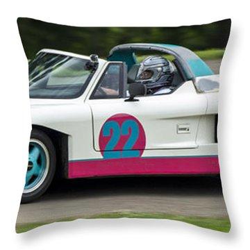 Car No. 22 - 02 Throw Pillow