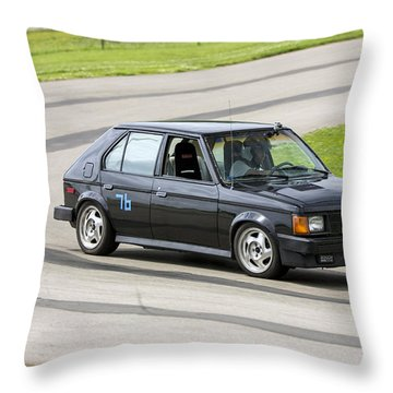 Car No. 76 - 03 Throw Pillow