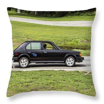 Car No. 76 - 04 Throw Pillow
