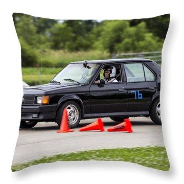 Car No. 76 - 05 Throw Pillow