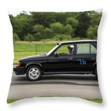 Car No. 76 - 06 Throw Pillow