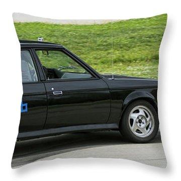 Car No. 76 - 08 Throw Pillow