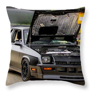 Car Show 051 Throw Pillow