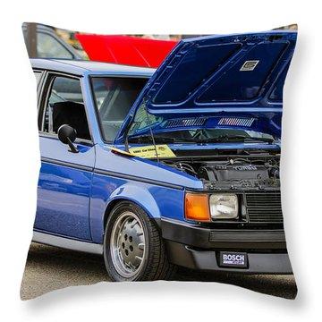 Car Show 078 Throw Pillow