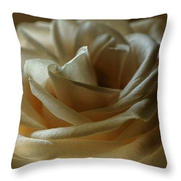 Caramel Mochachino Throw Pillow by Darlene Kwiatkowski