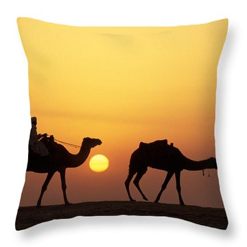 Caravan Morocco Throw Pillow